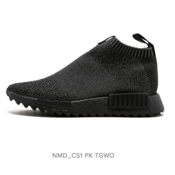 the best attitude b1d03 ac0c0 ADIDAS X TGWO NMD CITY SOCK PK TRIPLE BLACK NWT